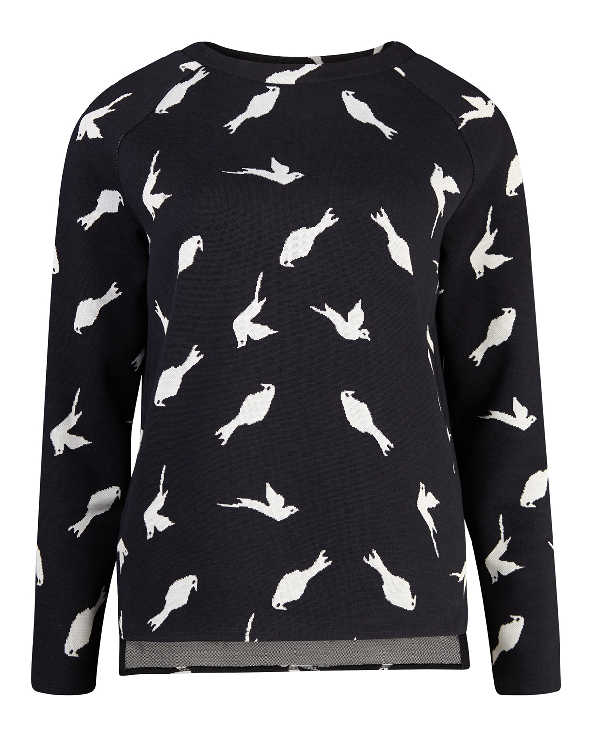 Dames Trui Met Print.Dames Bird Print Top 79733434 We Fashion