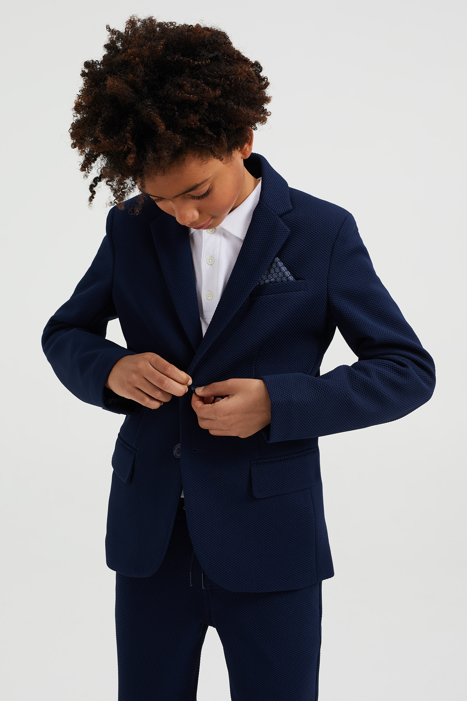 Jongens regular fit blazer | 94815634 WE Fashion