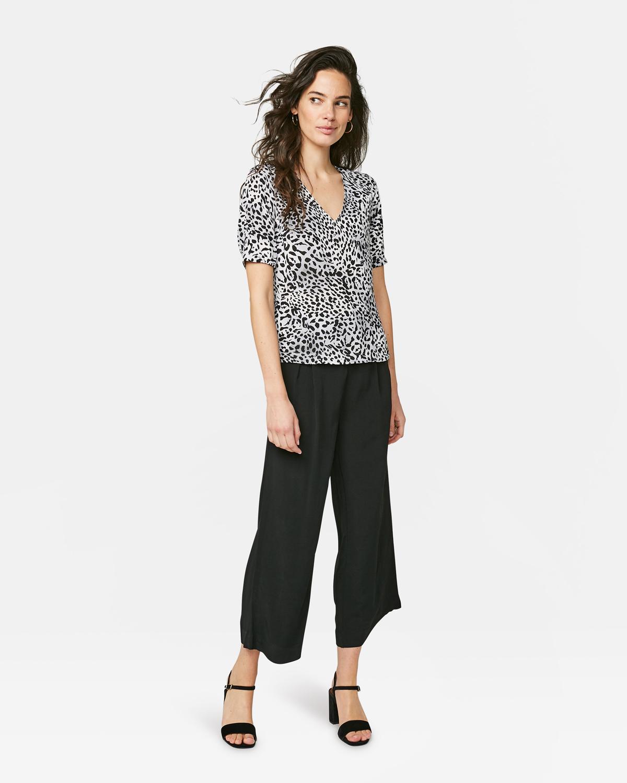 Dames dierenprint top | 94581331 WE Fashion